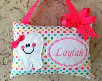 Tooth Fairy Pillow Dots  Riley Blake