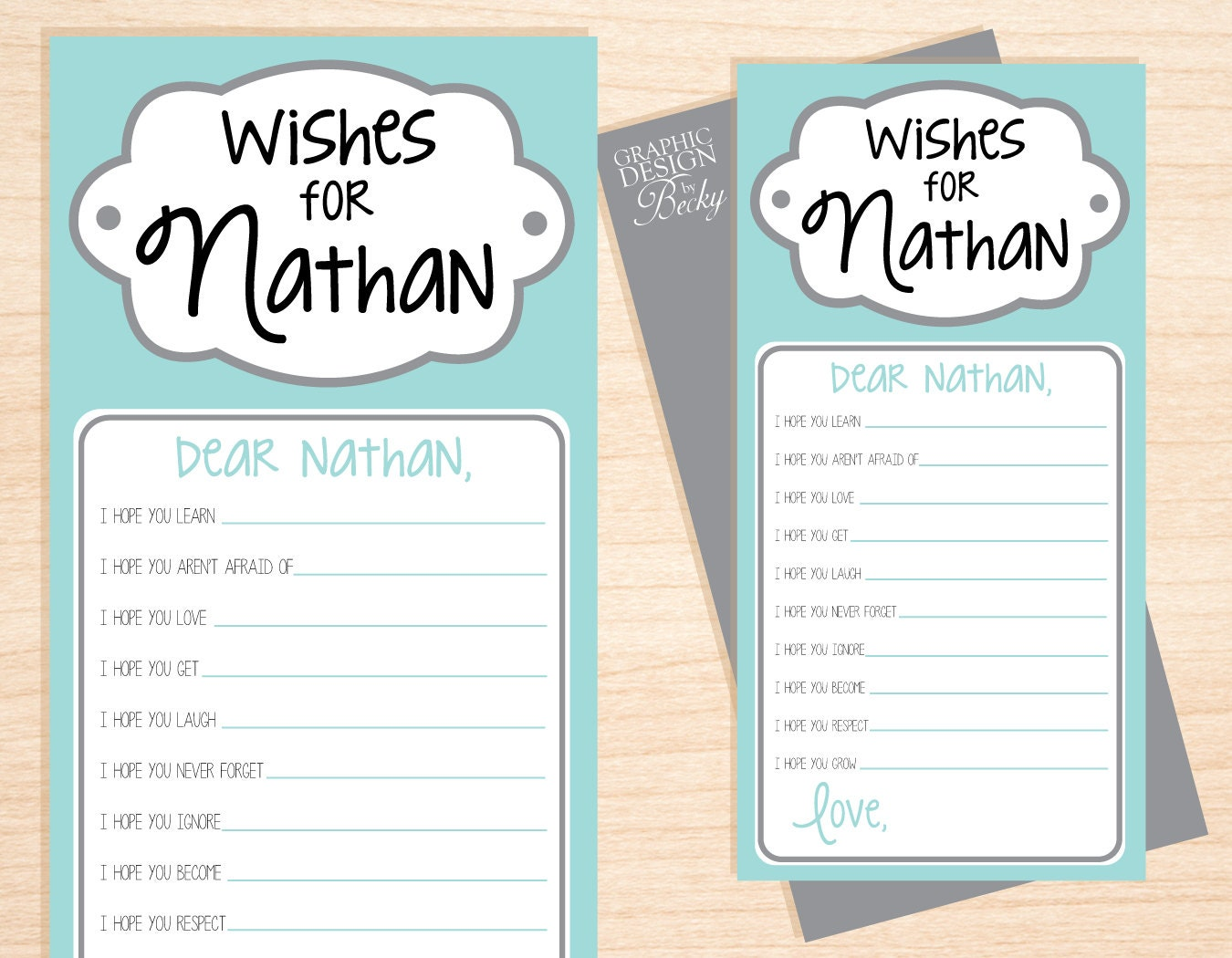 free printable baby shower wishes template Car Tuning