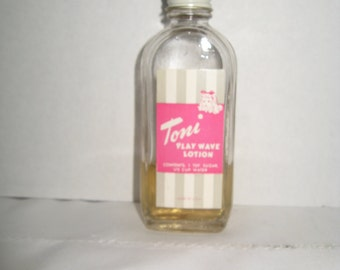 Original Toni Play Wave Lotion for Ideal Toni Doll 1950's