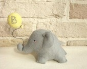 Elephant Cake Toper Custom Made Baloon  Felt  Birthday Decoration Baby Shower