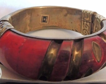 India Vintage Jewelry Brass Bracelet
