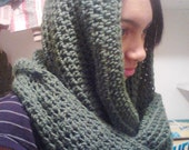 Thick Crochet Xfinity Cowl Scarf