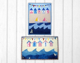 Seaside Small Wall Hanging/quilt Pattern