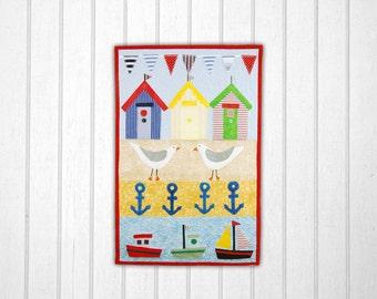 Seaside Sampler Small Quilt Pattern