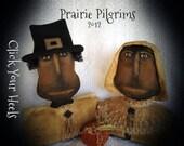 E Pattern Prairie Pilgrims Click Your Heels  Primitive