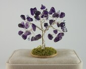 February Birthstone Tree - Amethyst