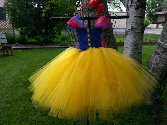 Snow White Princess Inspired Tutu Dress Costume Infant To 3t