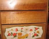 Vintage Spice Rack Woodpecker Woodware