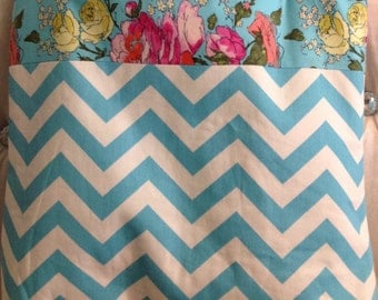 Fabulous Chevron and Amy Butler Tote