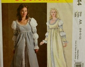 Renaissance Dress, Empire Waist   McCall's Pattern 5444  Uncut  Size 6-8-10-12  Bust 30.5-31.5-32.5-34""