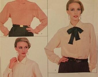 "Blouse Set by Calvin Klein - 1970's - Vogue American Designer Pattern 1025  Uncut  Sizes 12-14-16  Bust 34-36-38"""