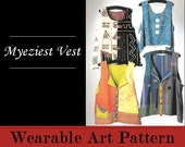 Myeziest Vest - an easy to make vest with MANY options