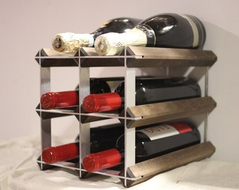 The Weekender, countertop wine rack