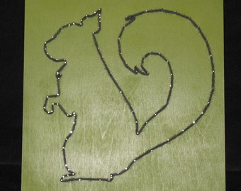 String Art Squirrel