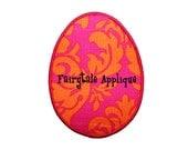 Digital Machine Embroidery Design -  Easter Egg Applique