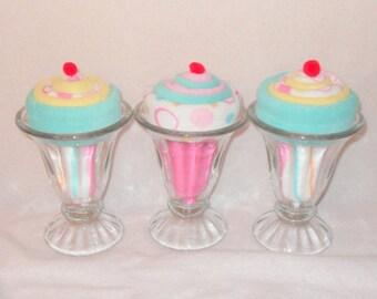 Baby Shower Ice Cream Sundaes
