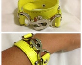 Neon and silver Bracelet