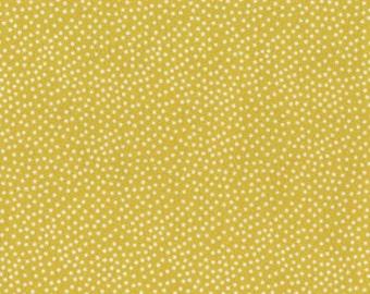 Fabric by the Yard Michael MIller Garden Pindot Citron