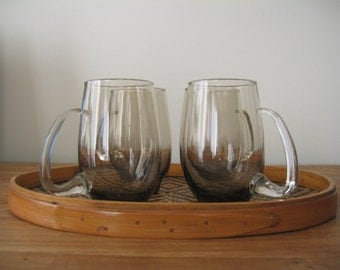 Libbey Smokey Cafe Glasses