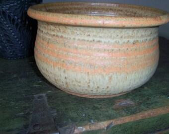 Handmade Vintage Stoneware Bowl