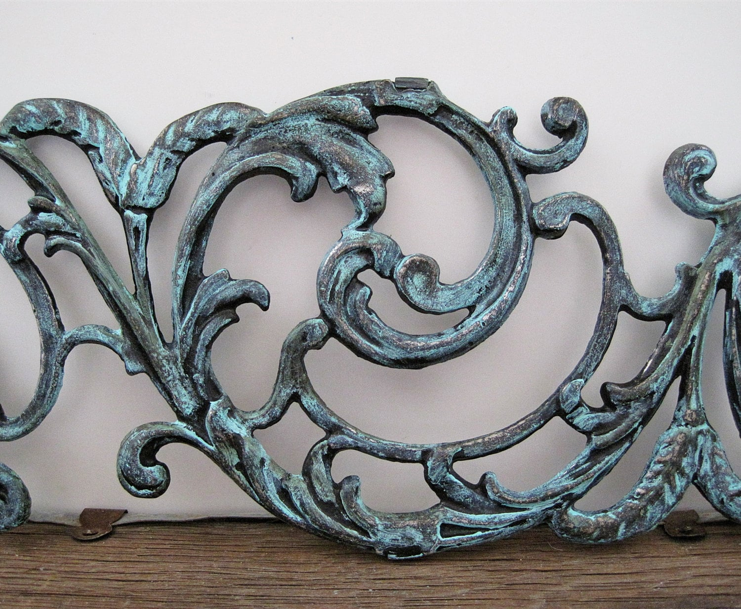 Metal Wall Art Filigree Gate Architectural Salvage Garden Home