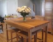 Handmade custom table legs, kitchen island legs, desk, or coffee table legs - Otto Woodwork