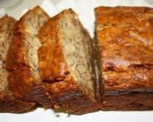 Banana Bread, homemade baked goods, homemade bread, baked goods