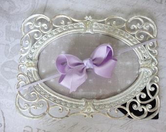 Baby headbands, skinny headbands, bow headbands, girls headbands,lavender headbands, baby headband, wedding headband