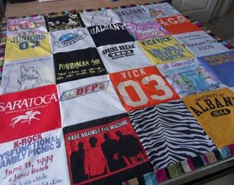 25 T-Shirt Quilt