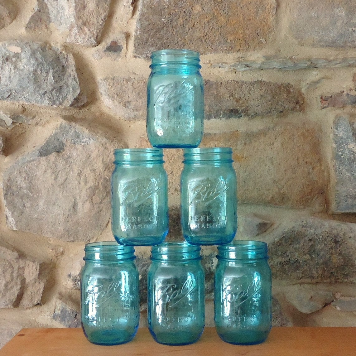 Blue mason jar drinking glasses with lids glasses with lids - Mason jar goblets ...