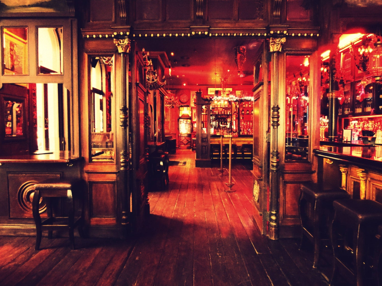 Ireland pub photography rustic western wood by for Irish home decorations