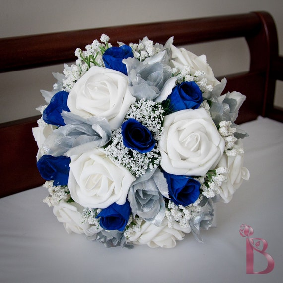Royal Blue And Silver Wedding Flowers: 301 Moved Permanently