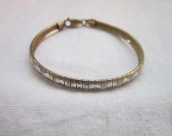 Lovely Vintage Sterling Silver Italy 925 Fancy Bracelet