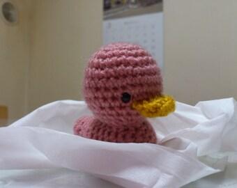 Amigurumi  baby ducks pink