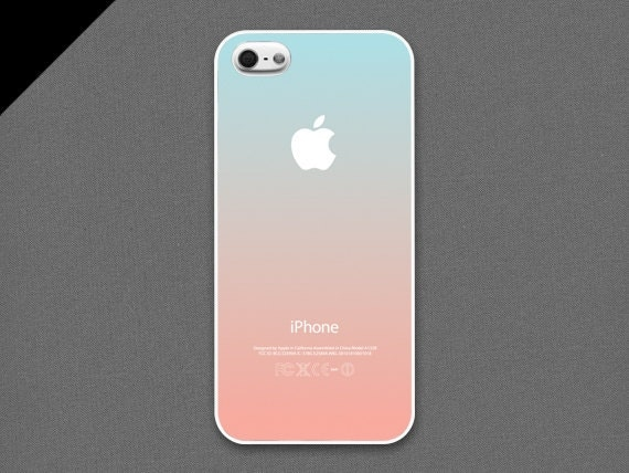 iphone 4 s cases items similar to iphone 4 4s pastel gradation 14398