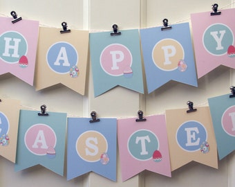 Easter-Banner-Printable-psDre Party Printables