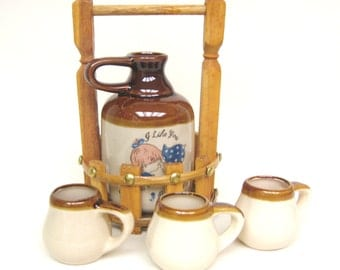 Vintage I Like You Ceramic Jug and Accessories, Unique Valentine's Day Gift