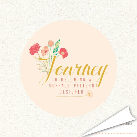 journey to becoming a surface pattern designer e-book