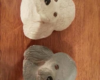 Decorative Poodle Heads