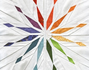 Starlight Diverging - Paper Piecing