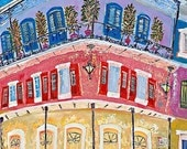 Royal Sonesta, French Quarter Painting