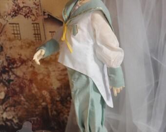 Sailor Boy B  , Clothes set for SD 10/ 13  Boy (BJD)