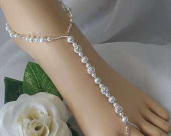 Bridal Barefoot Sandals Foot Jewelry Anklet
