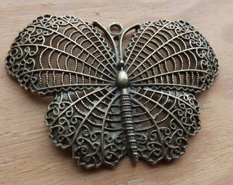 Large Filigree Butterfly