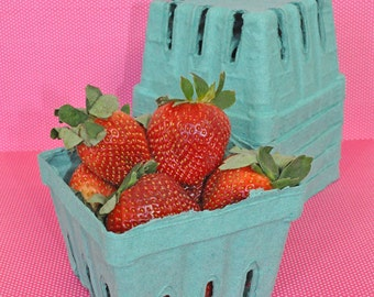 24 Pint Berry Basket Strawberry Basket Berry Carton Favor Box