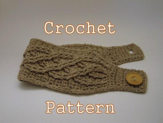 Crochet Headband Pattern Cable Dancox For