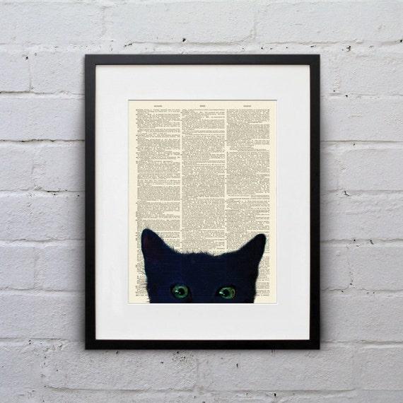 cat art, book art, bookishly speaking, whisker prints