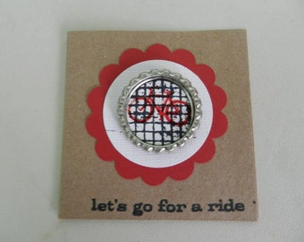 Lets Go For a Ride Mini Card