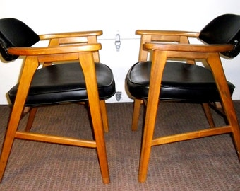 Mid Century Chairs, Vintage Danish Chairs, Murphy Miller Inc Chairs,  Vintage Danish Modern