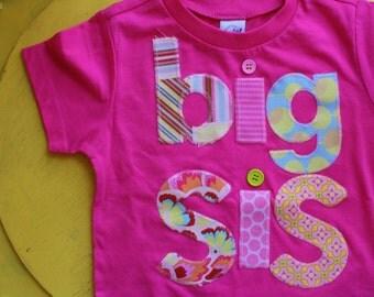 Big Sister Shirt, Big Sis, Sibling Shirts, Big Little Shirts, Big Sister T-Shirt, Big Sis T-Shirt